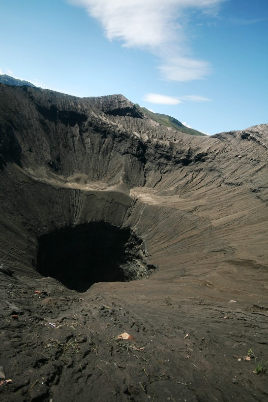 bromo's crater