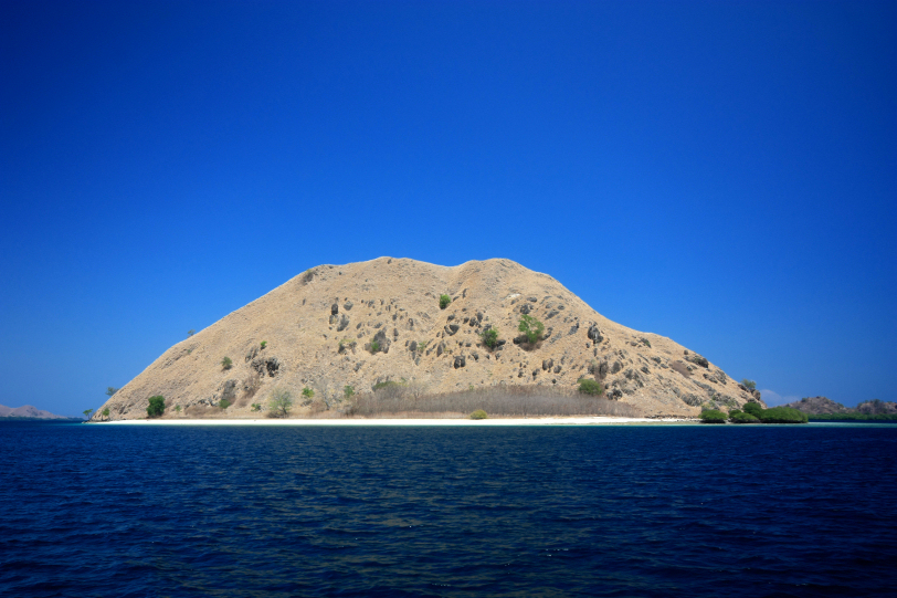 small islands off flores