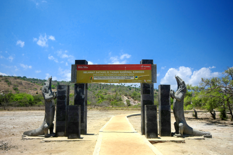 komodo entrance
